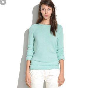 Madewell   Aqua Merino Wool Pullover sz S
